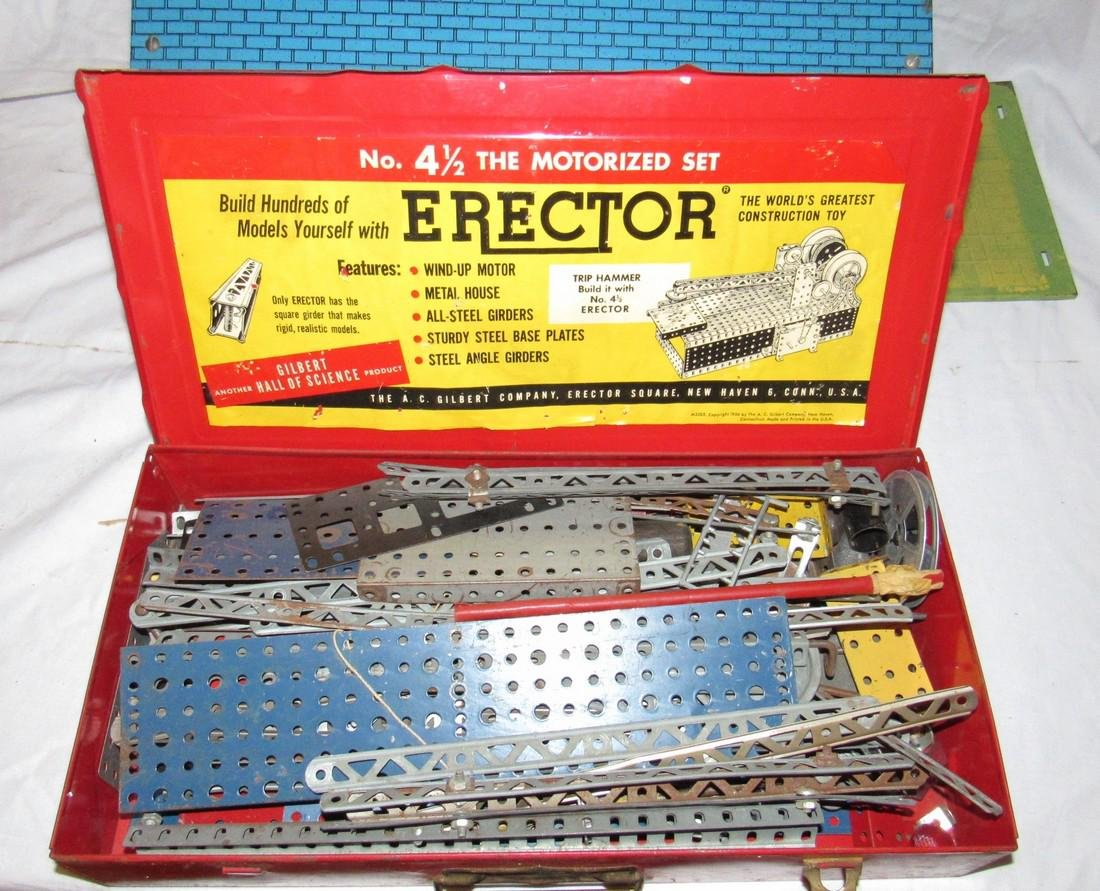 Erector 4 1/2 Set Wolverine 800 Toy Doll House - 4