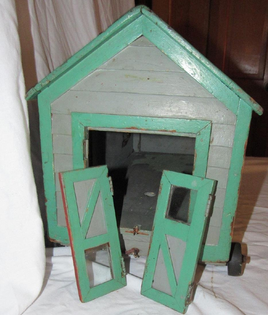 Wooden Barn  Pull Toy - 4