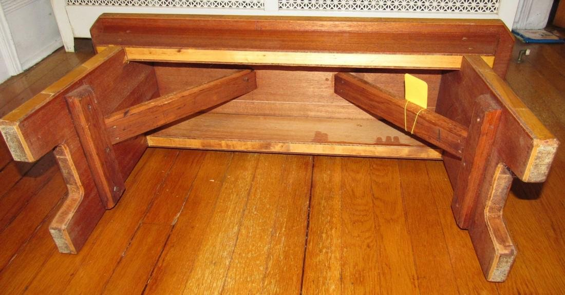 Wooden Bench - 3