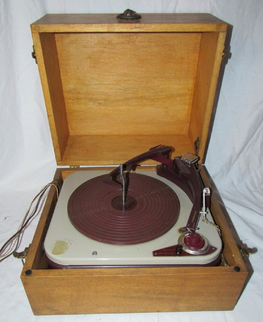 Webcor Turntable