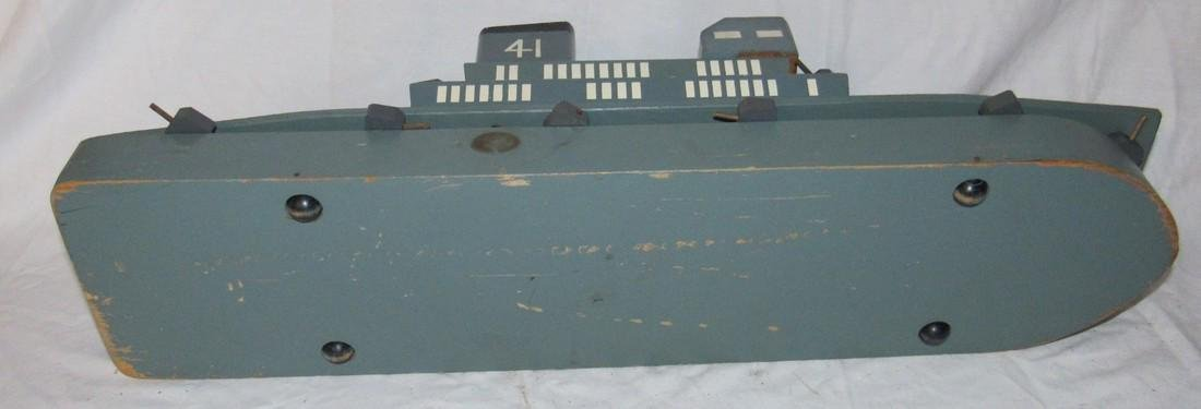 Wooden Air Craft Carrier Toy - 4