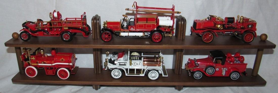 Matchbox Models of Yesteryear Firetruck Toys