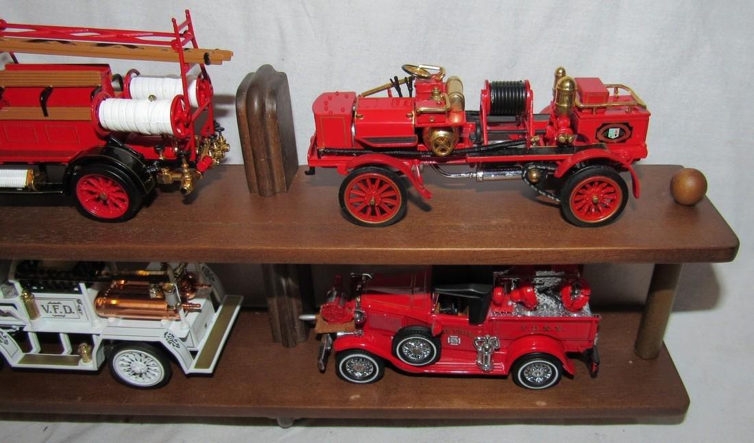 Matchbox Models of Yesteryear Firetruck Toys - 3