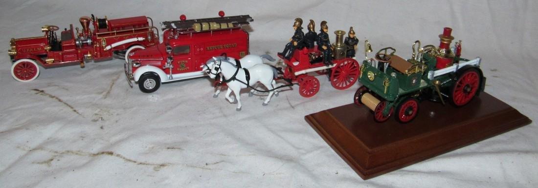 4 Matchbox Models of Yesteryear Toy Trucks