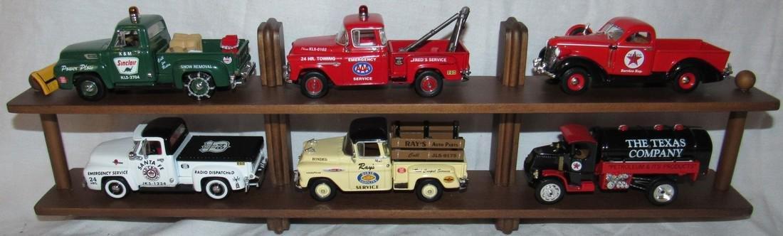 6 Matchbox Models of Yesteryear Gas Station Oil Trucks