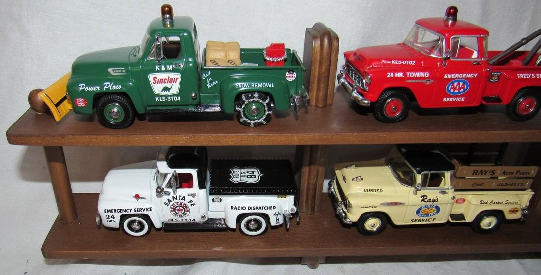 6 Matchbox Models of Yesteryear Gas Station Oil Trucks - 2