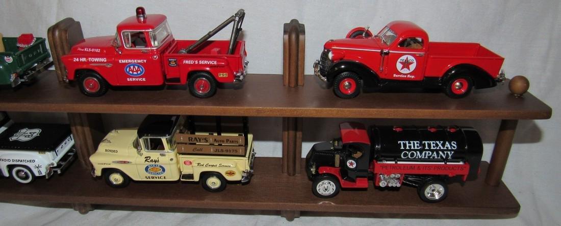 6 Matchbox Models of Yesteryear Gas Station Oil Trucks - 3
