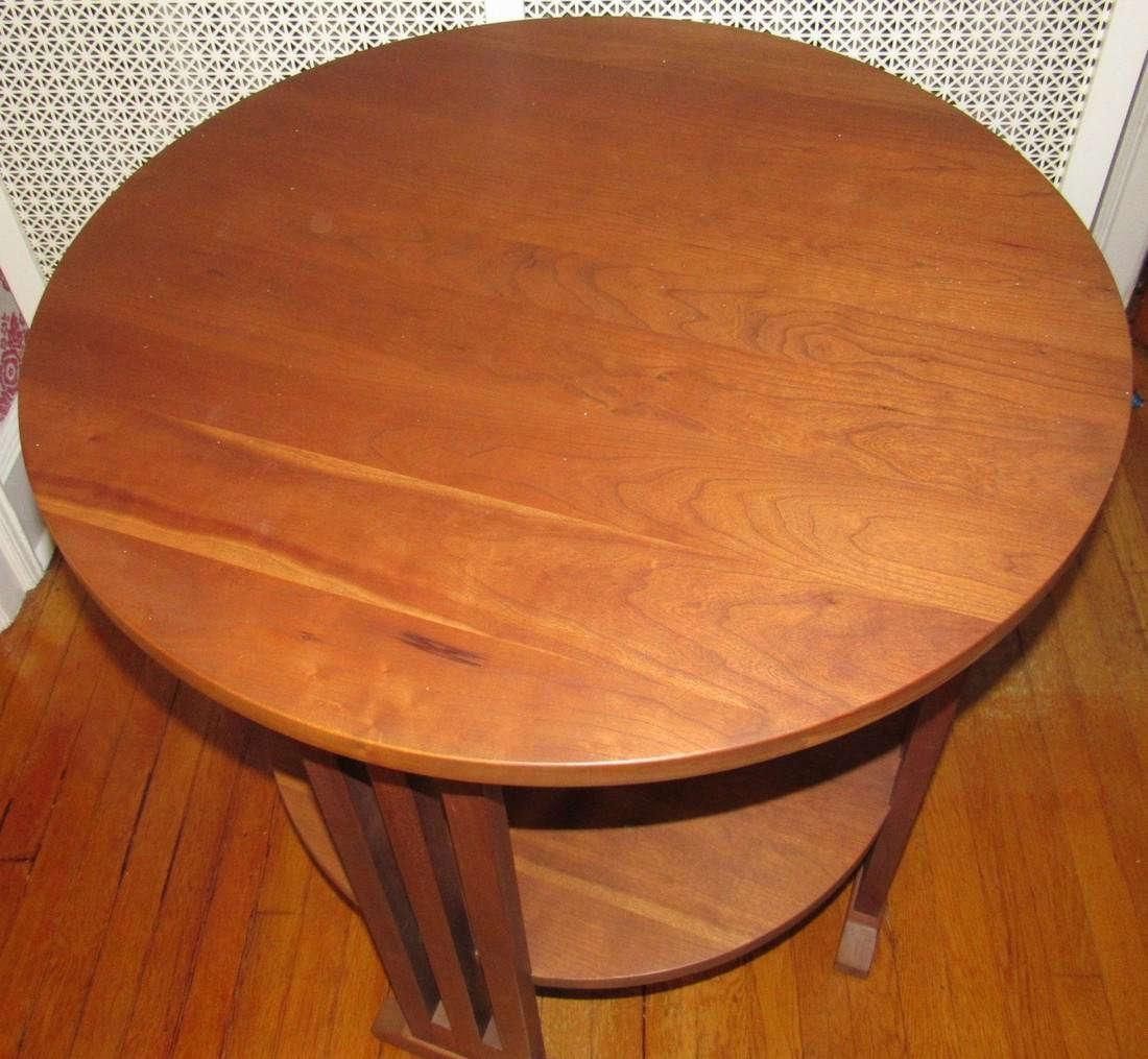 Stickley #703 Round Plant Stand Lamp Table - 2