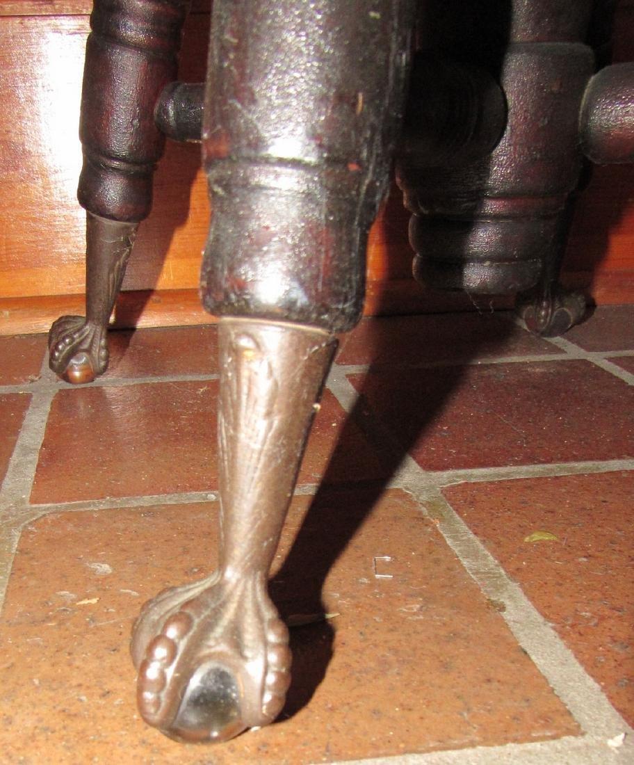 Ball & Claw Foot Piano Stool - 3