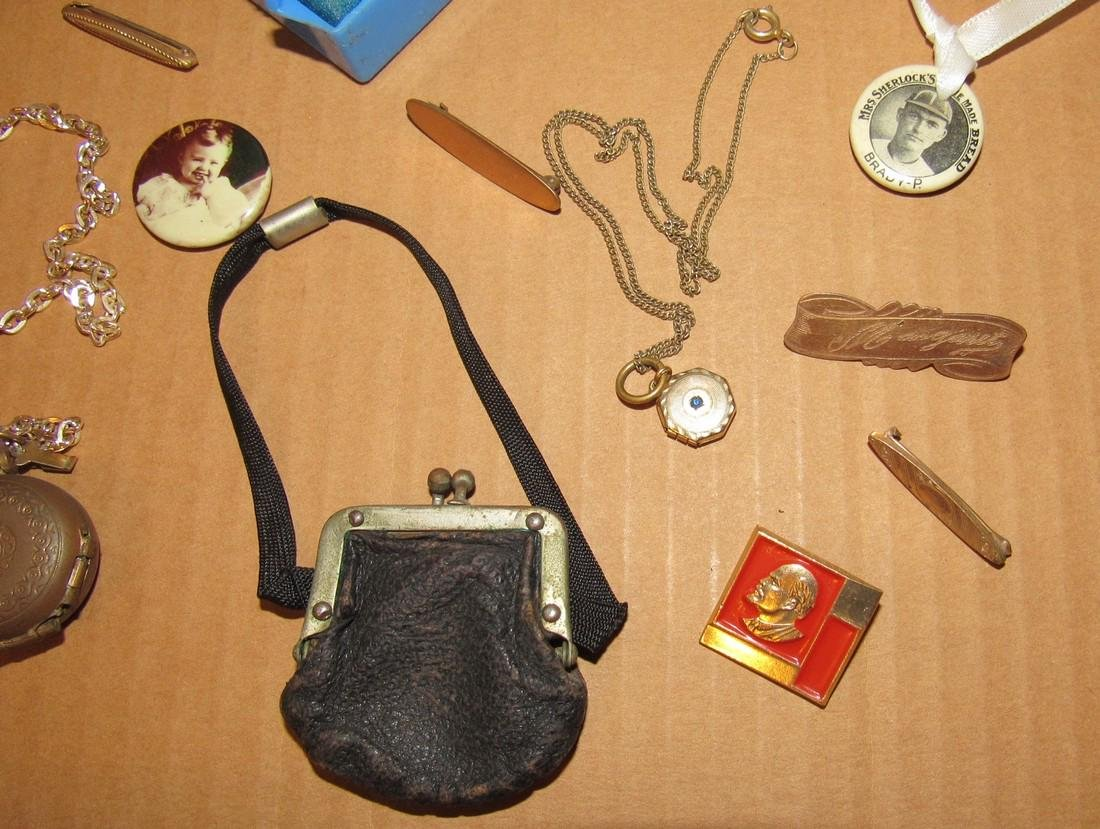 Lockets Pins Doll Purse - 4