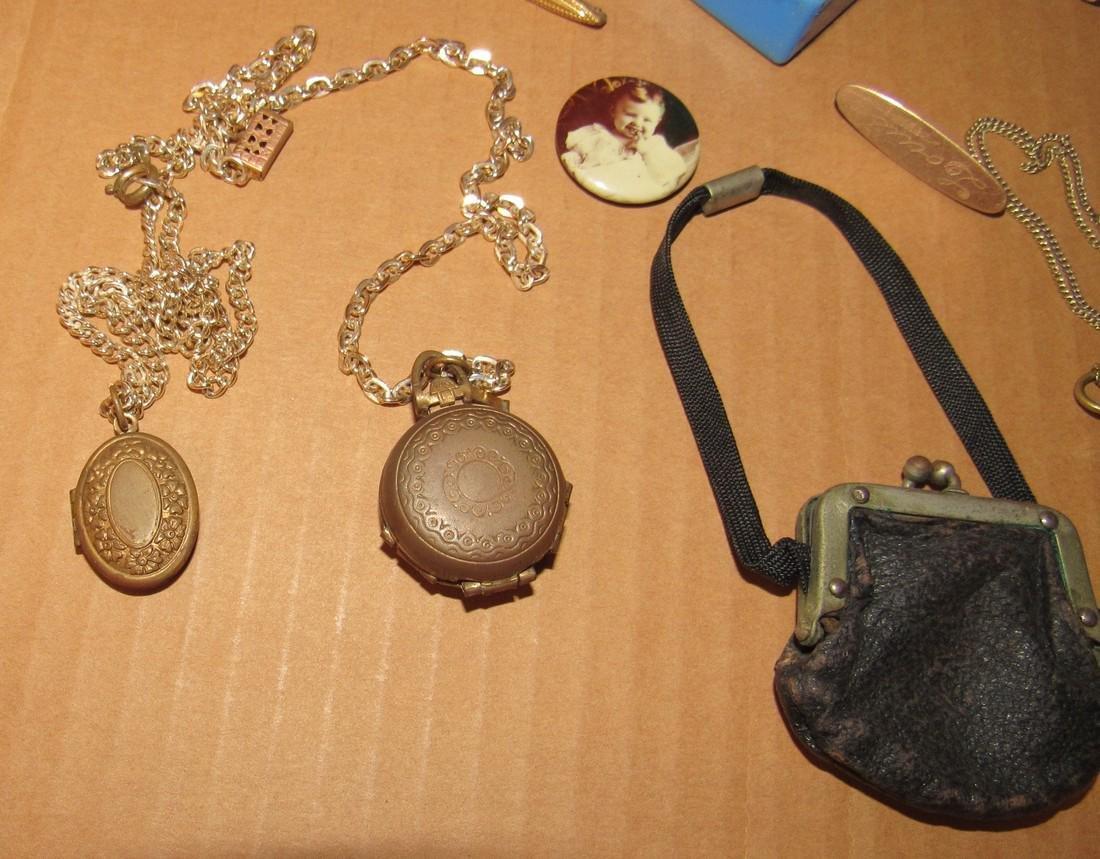 Lockets Pins Doll Purse - 5