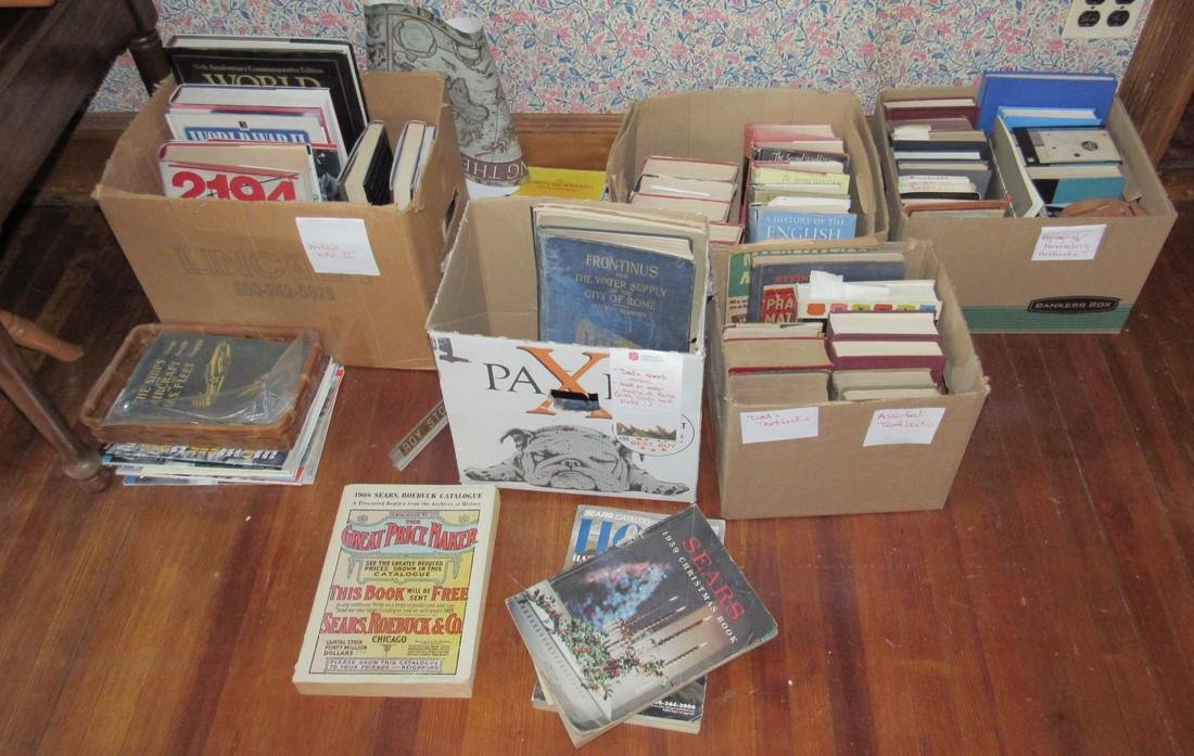 Lot of Misc Books Incl.  Rome Water Supply