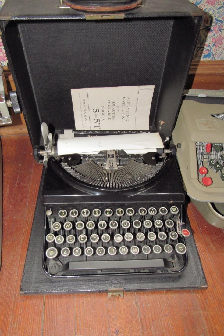 Lexicon 80 Remington & Anterex Parva Typewriters - 3