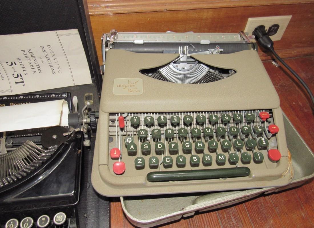 Lexicon 80 Remington & Anterex Parva Typewriters - 4