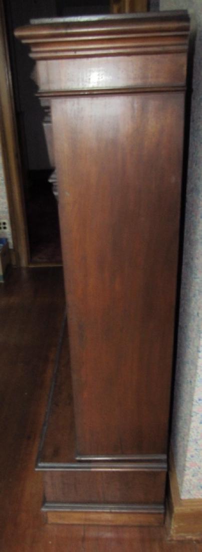 Victorian 2 Door 2 Drawer Bookcase - 3