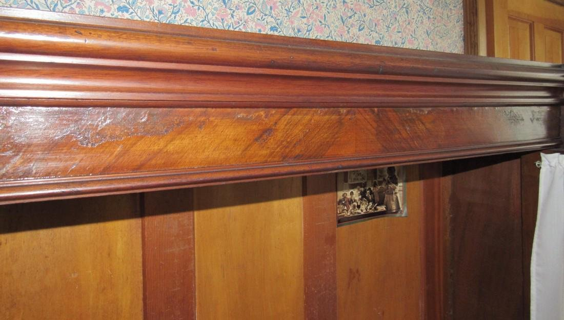 Victorian 2 Door 2 Drawer Bookcase - 5