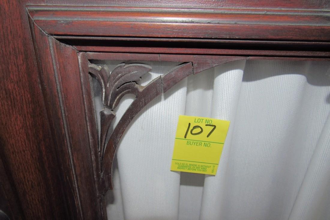 Victorian 2 Door 2 Drawer Bookcase - 6