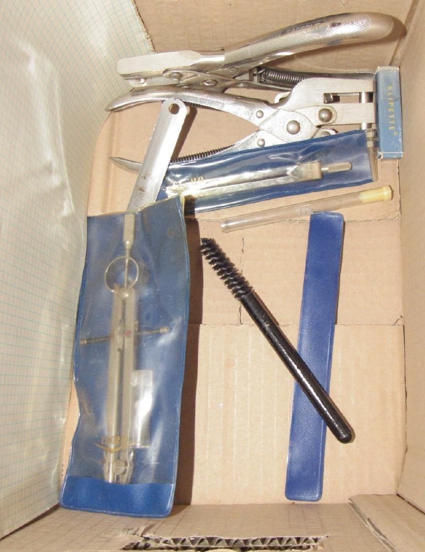 Vintage Staplers Pen Holders Desk Top Items - 4