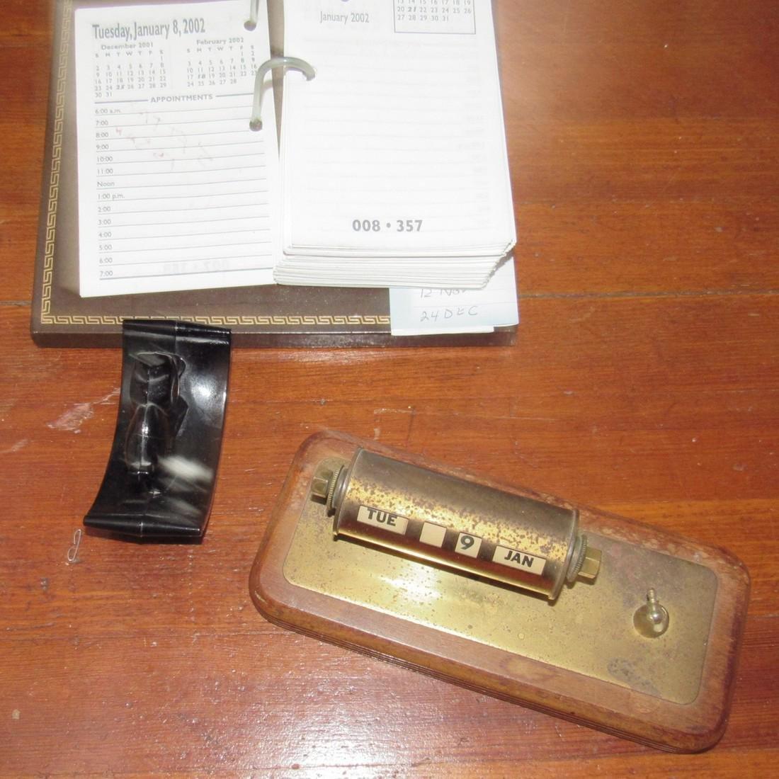 Vintage Staplers Pen Holders Desk Top Items - 5