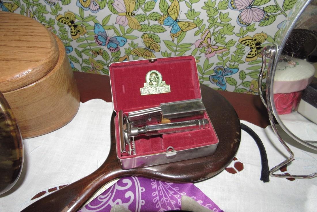 Vanity Mirrors Shaving Brushes Trinket Boxes - 4