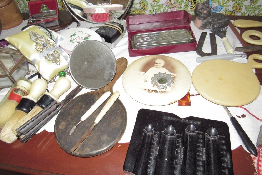 Vanity Mirrors Shaving Brushes Trinket Boxes - 5