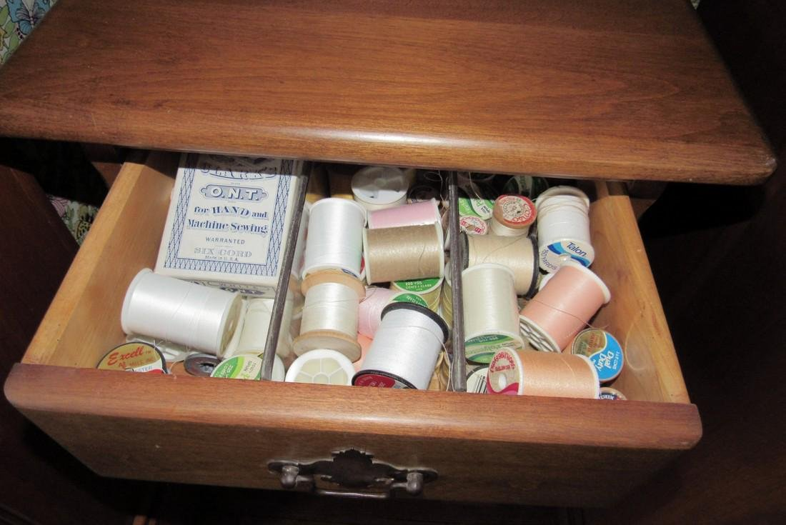 3 Drawer Cabinet Sewing Thread Patterns Material - 2