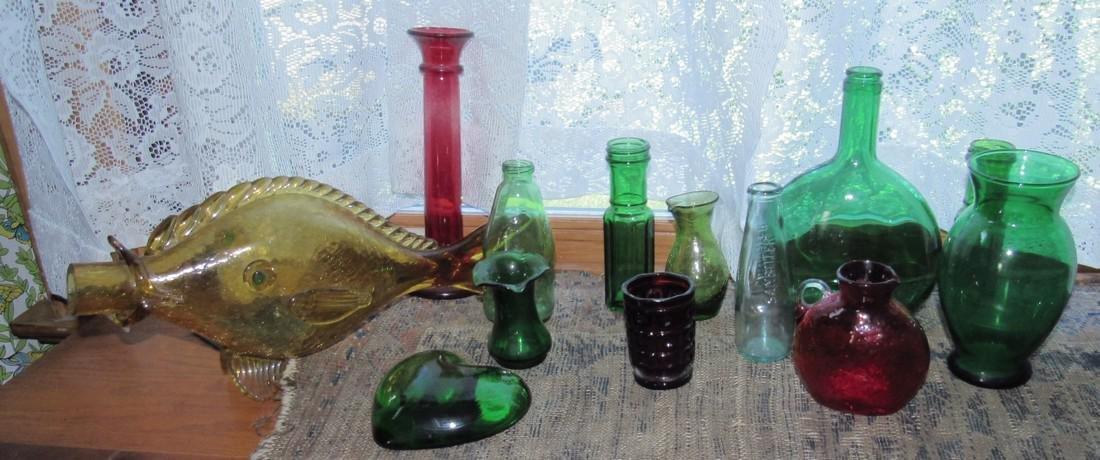 Misc Glass Lot Blenko ?
