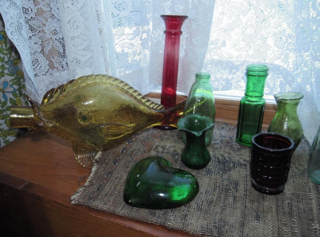 Misc Glass Lot Blenko ? - 2