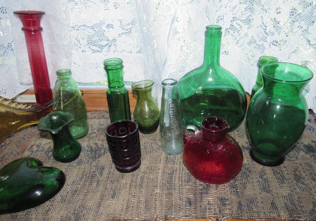 Misc Glass Lot Blenko ? - 3