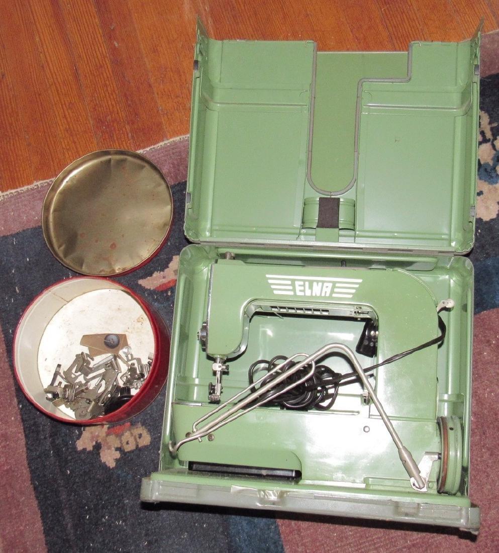 Elna Sewing Machine & Accessories