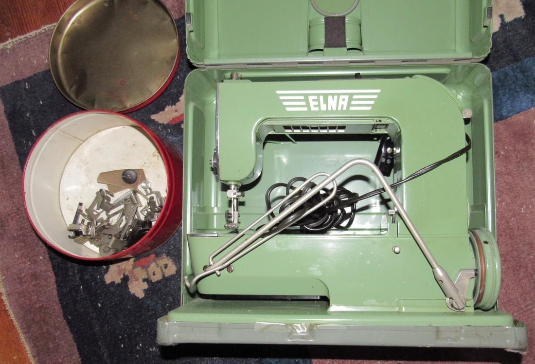 Elna Sewing Machine & Accessories - 2