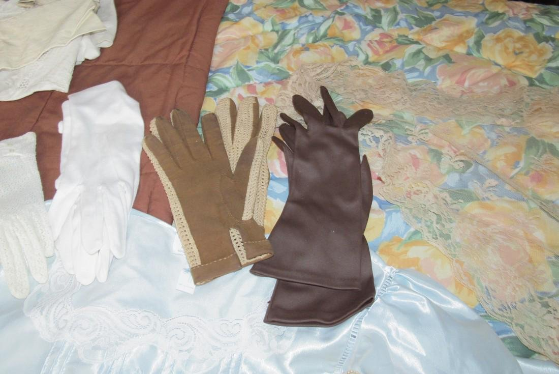 Doilies Linens Lingerie Gloves Handkerchiefs - 7