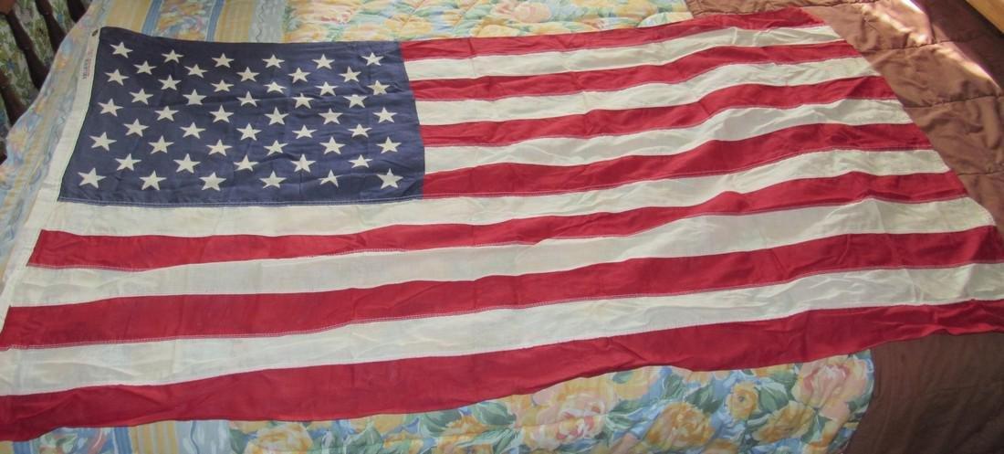 "Vintage Reliance American Flag 28""x 57"""