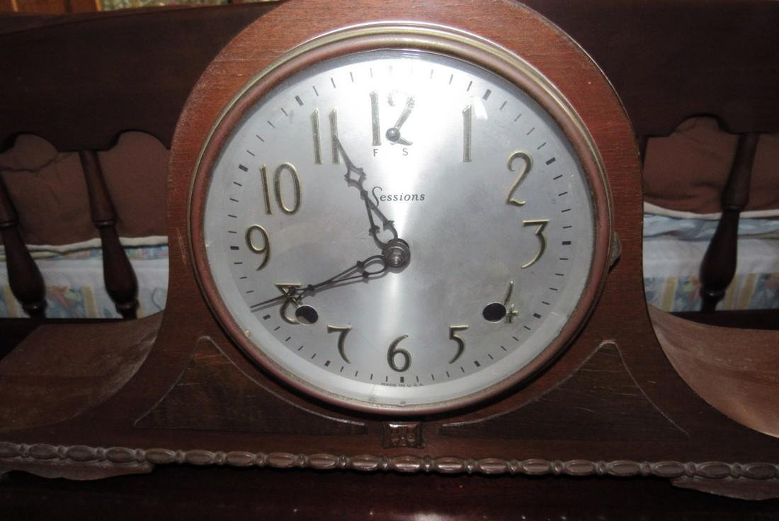 Sessions Mantle Clock - 2