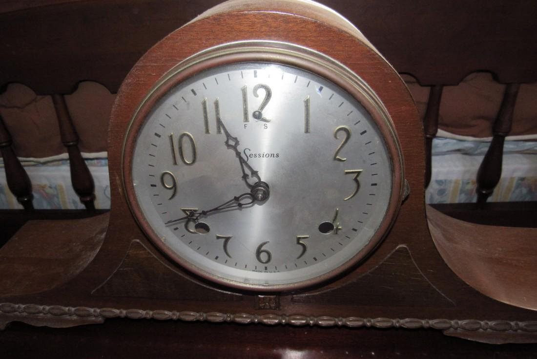 Sessions Mantle Clock - 3