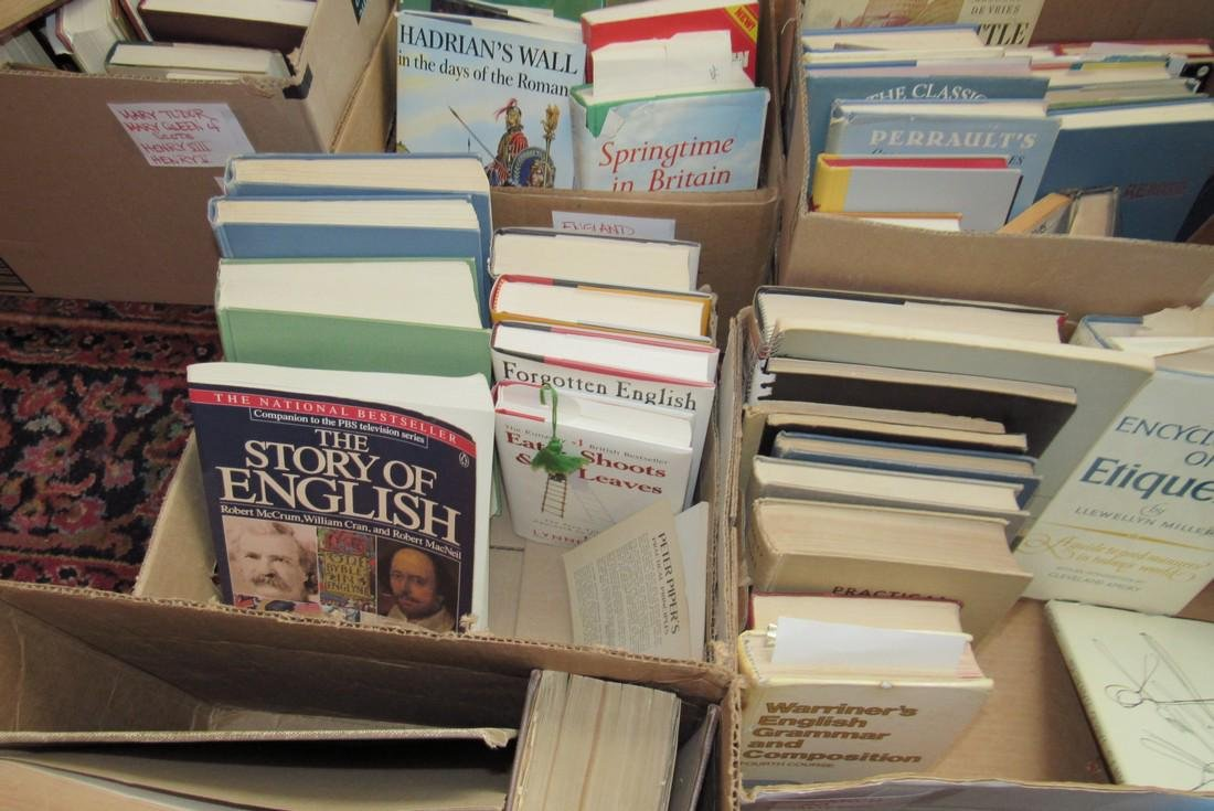Large Lot of Books - 4