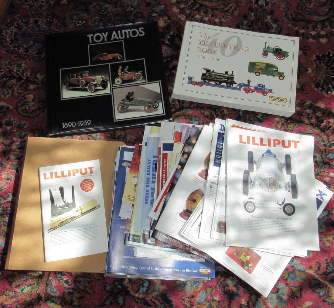 Toy Autos & Matchbox Models of Yesteryear Books