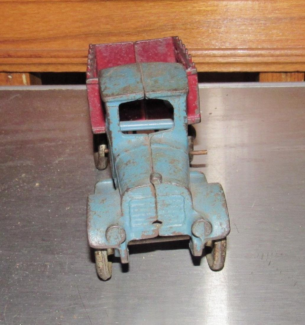 Cast Iron Toy Live Stock Truck - 2