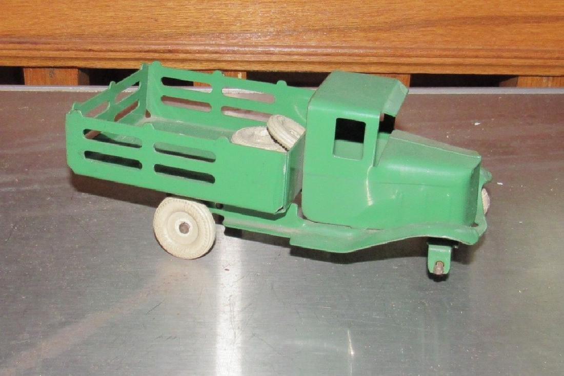 Tin Stake Body Toy Truck