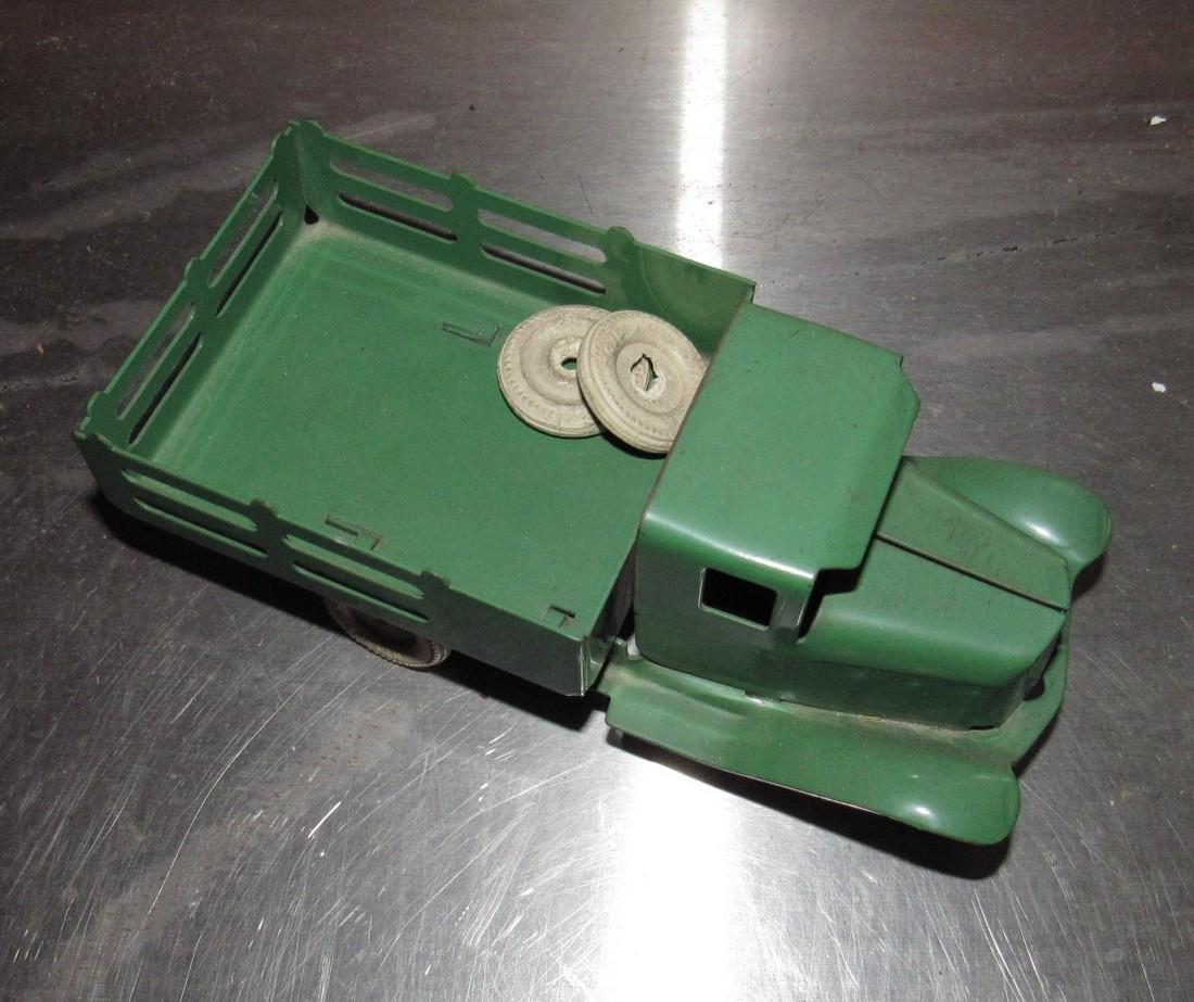 Tin Stake Body Toy Truck - 2