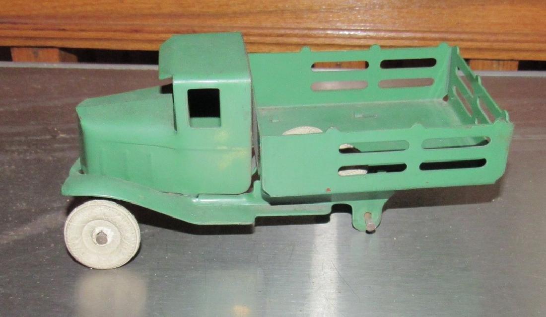 Tin Stake Body Toy Truck - 3