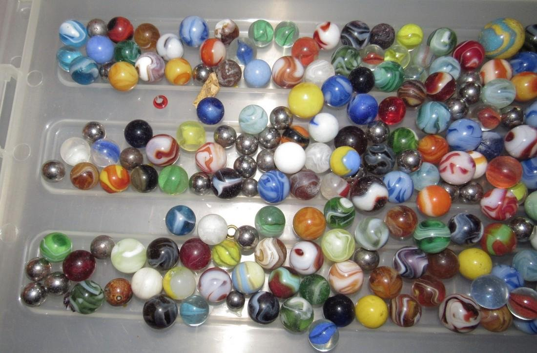 Large Lot Of Marbles - 3