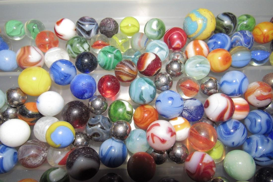 Large Lot Of Marbles - 4