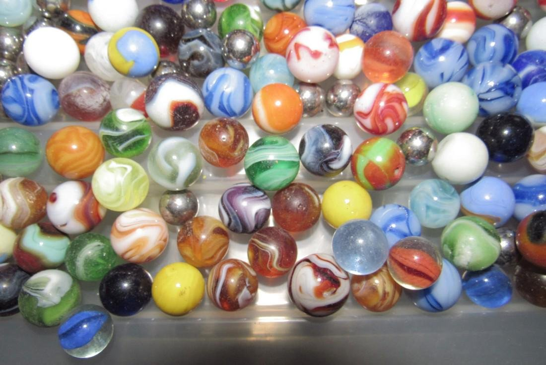 Large Lot Of Marbles - 5