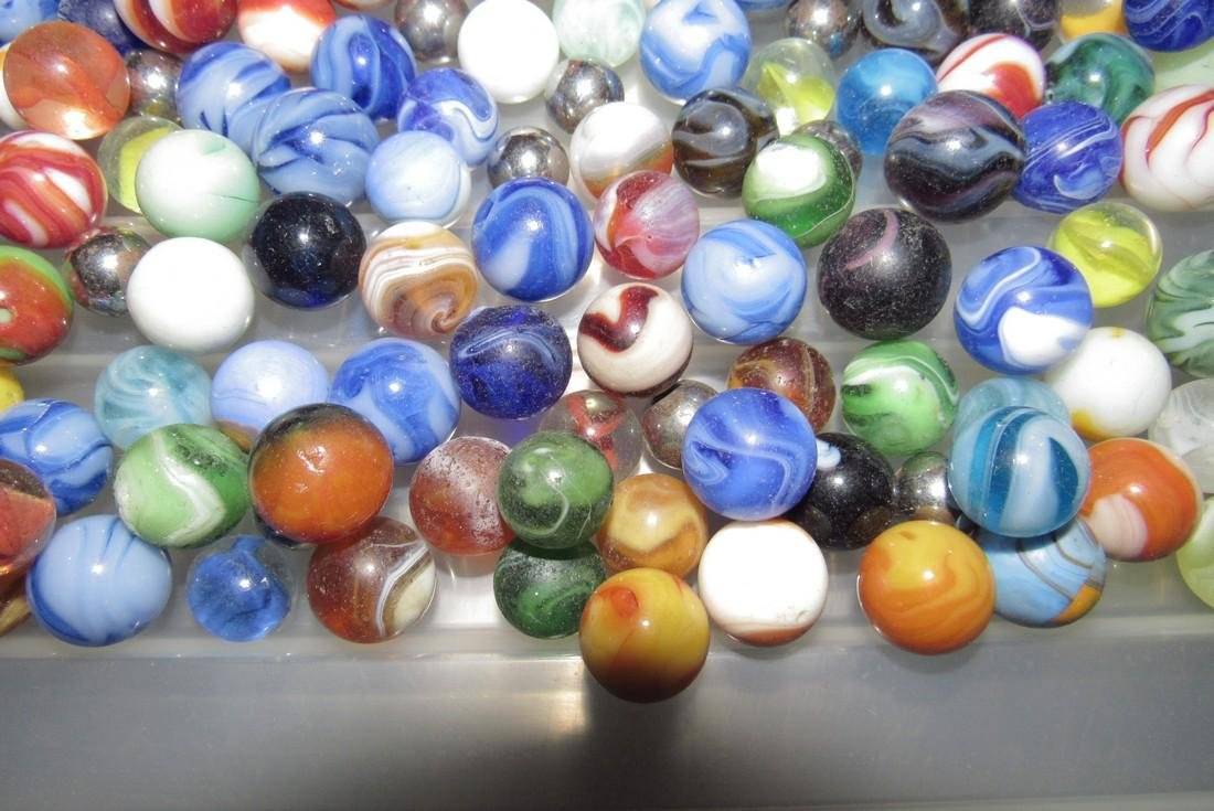 Large Lot Of Marbles - 6