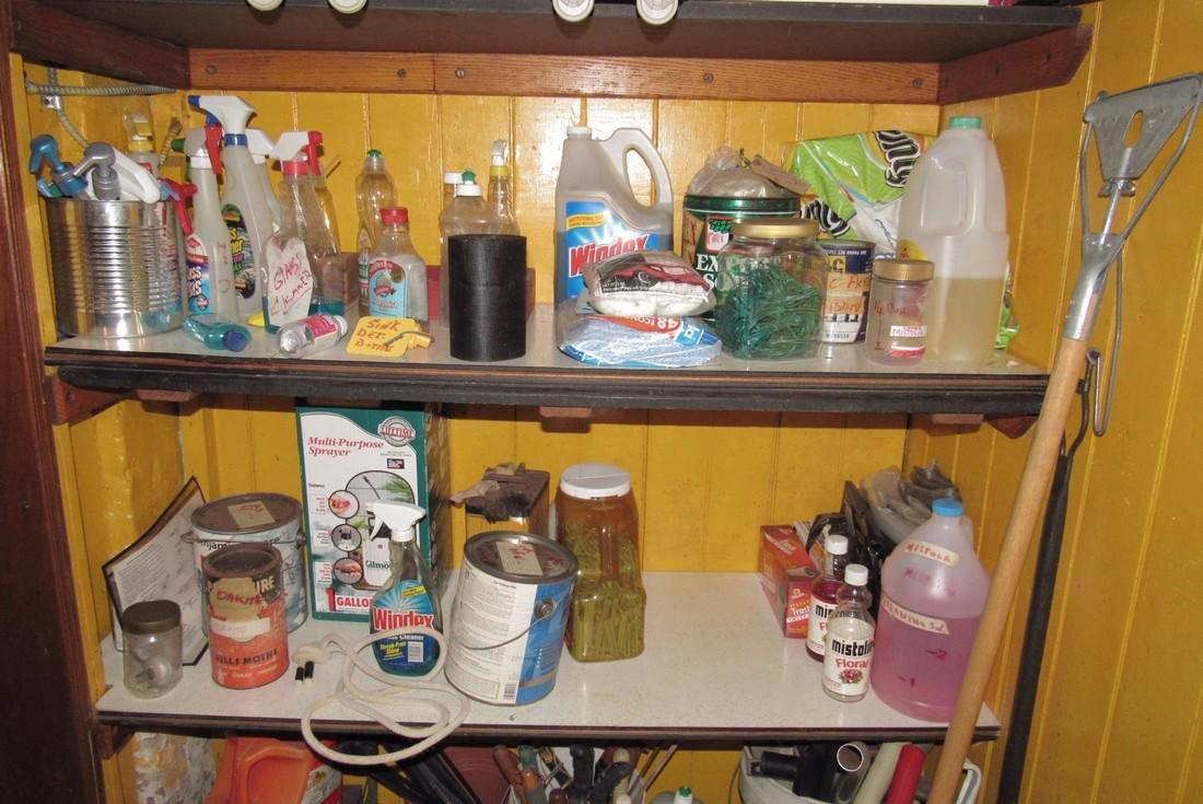 Mop Bucket & Shelf Contents - 3