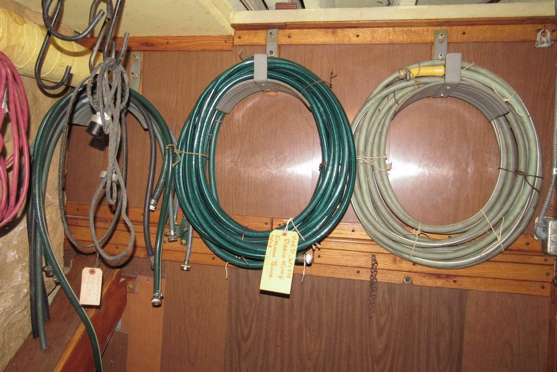 Laundry Room Bathroom Contents Hoses Extension Cords - 6