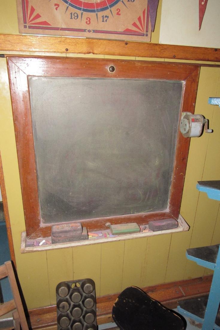 Corner Shelf Chalkboard Pennants Muffin Pan Bench - 3