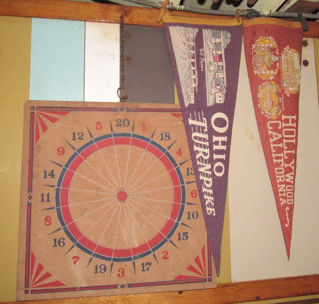 Corner Shelf Chalkboard Pennants Muffin Pan Bench - 7