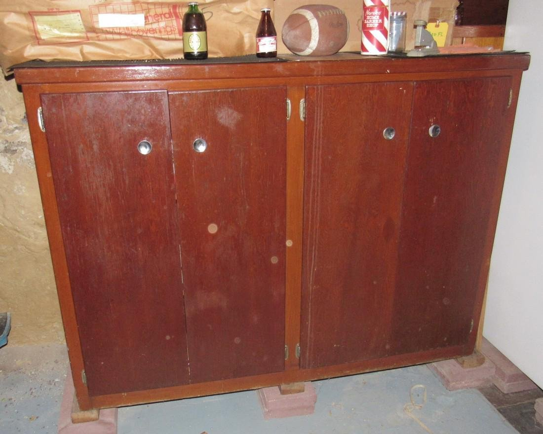 Cabinet & Contents